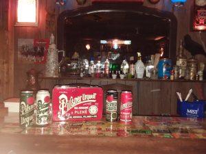 Enjoying some Czech Pilsner at the Backwoods Tavern last night. 20190303_201634