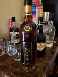 Haven't tried this yet, but will let you know when we do. Zaya Gran Reserva Rum is a blend of
