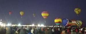 I'm back! The wife and I took a road trip to the the Albaquerque Balloon Fiesta this weekend.