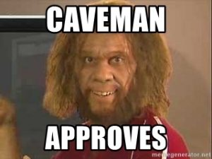 @slingersbar Great Show today Boys … CHEERS … CAVEMAN APPROVES