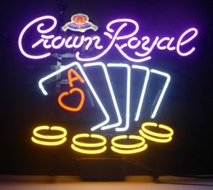 CONGRATS … CROWN NEON
