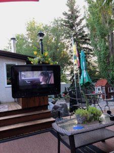 deck bar and Tv IMG_0225IMG_0230