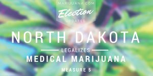 Vox.com: North Dakota quietly decriminalized marijuana. https://www.vox.com/policy-and-politics/2019