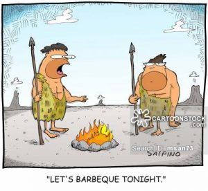 'Let's barbeque tonight.'