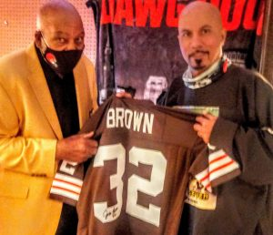 Jim Brown came to MY house!!!! 20201116_131446~4